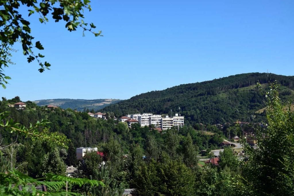Пейзаж от град Плачковци